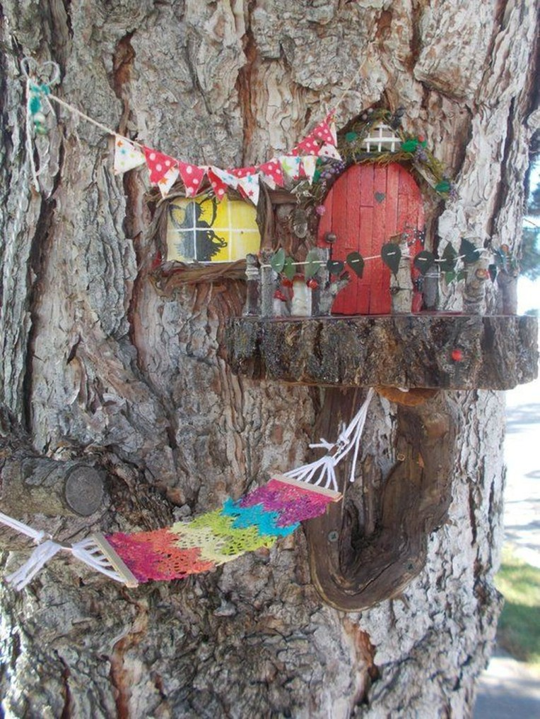 Stunning Fairy Garden Miniatures Project Ideas47
