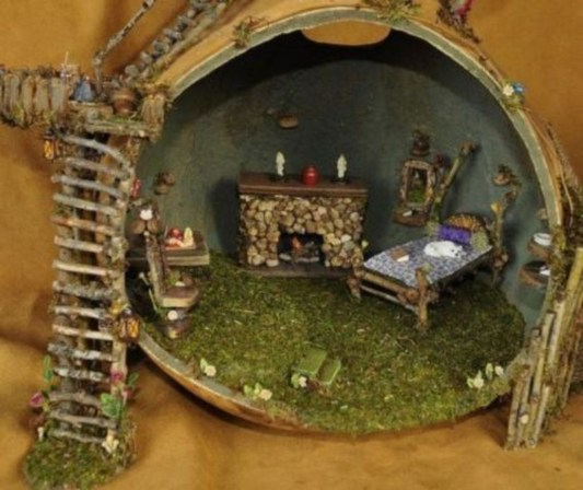 Stunning Fairy Garden Miniatures Project Ideas48