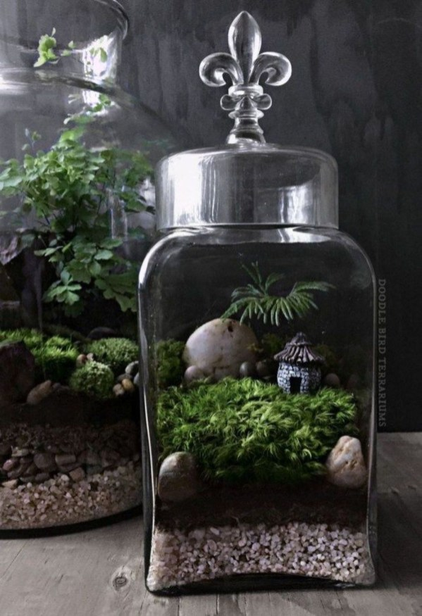 Stunning Fairy Garden Miniatures Project Ideas50