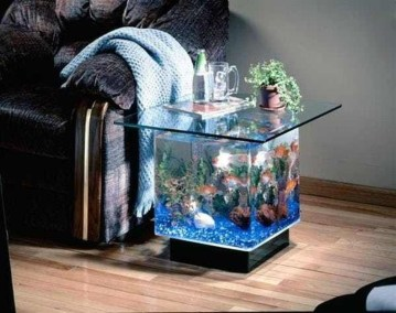 Amazing Aquarium Feature Coffee Table Design Ideas09