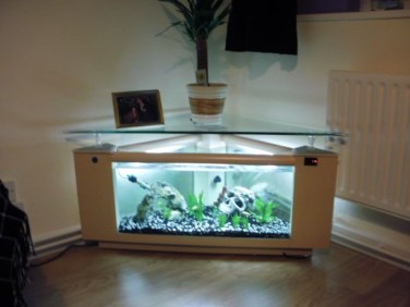Amazing Aquarium Feature Coffee Table Design Ideas13