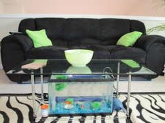 Amazing Aquarium Feature Coffee Table Design Ideas32