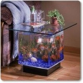 Amazing Aquarium Feature Coffee Table Design Ideas39