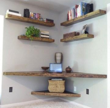 Amazing Diy Floating Wall Corner Shelves Ideas01