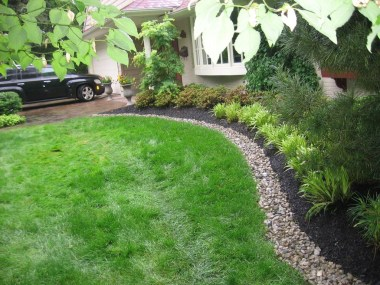 Amazing Grass Landscaping For Home Yard31