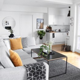Amazing Small Apartment Living Room 23
