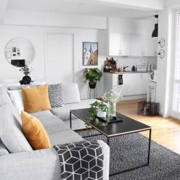 Amazing Small Apartment Living Room 23