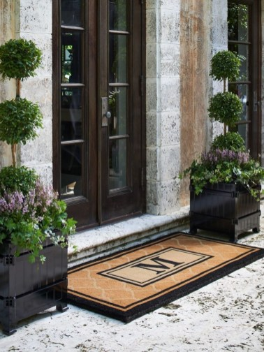 Awesome Front Door Planter Ideas13