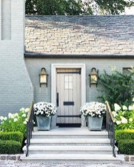 Awesome Front Door Planter Ideas21