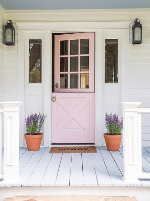 Awesome Front Door Planter Ideas25