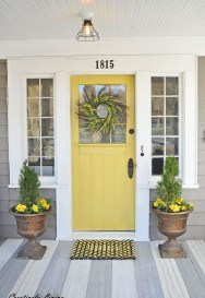 Awesome Front Door Planter Ideas28
