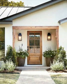 Awesome Front Door Planter Ideas34