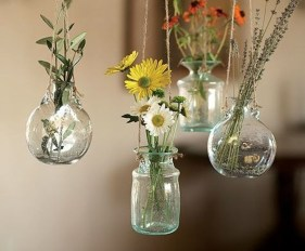 Awesome Ideas To Make Glass Jars Garden For Your Home Decor01