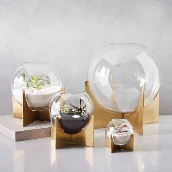 Awesome Ideas To Make Glass Jars Garden For Your Home Decor10