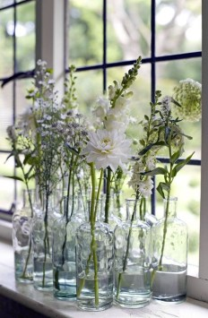 Awesome Ideas To Make Glass Jars Garden For Your Home Decor29