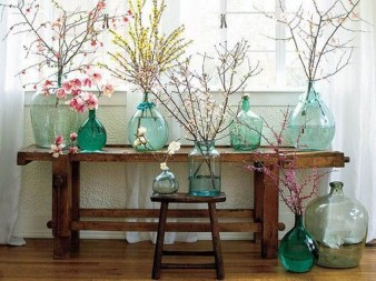Awesome Ideas To Make Glass Jars Garden For Your Home Decor31