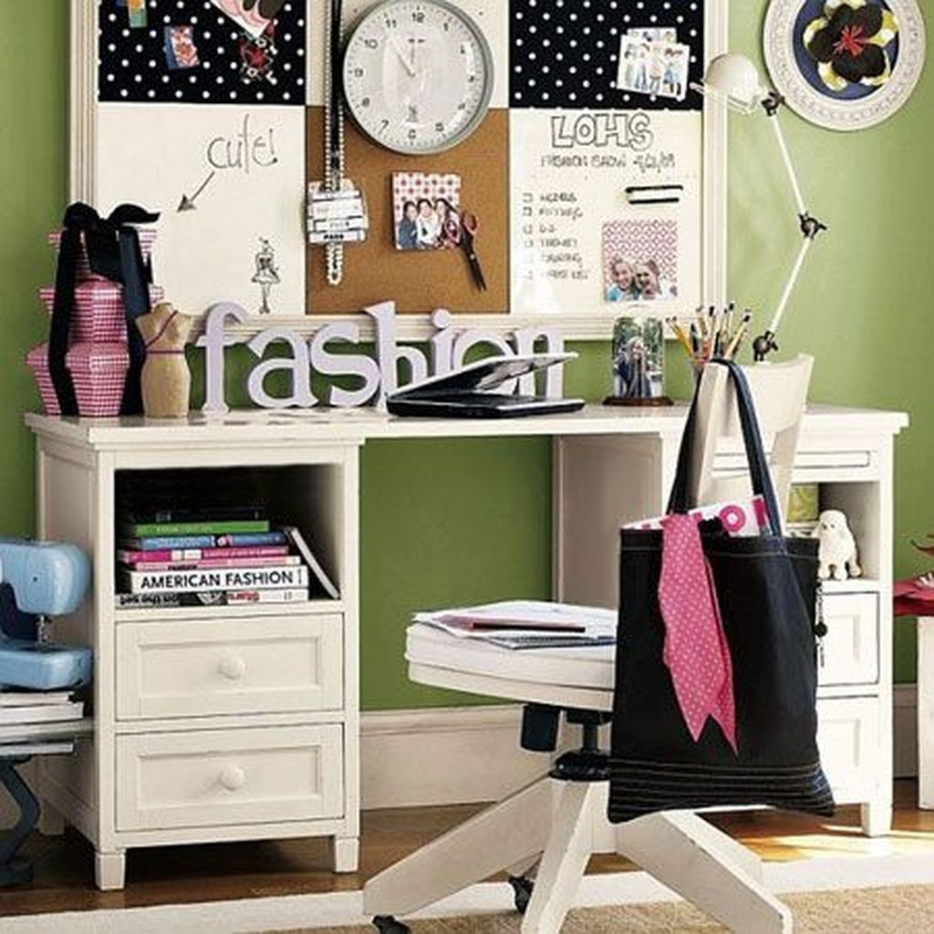 Awesome Study Room Ideas For Teens24