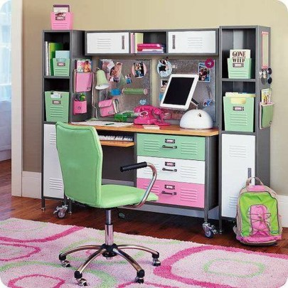 Awesome Study Room Ideas For Teens26