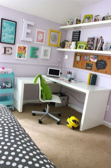 Awesome Study Room Ideas For Teens38