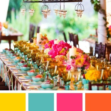 Awesome Teal Color Scheme For Fall Decor Ideas09