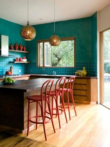 Awesome Teal Color Scheme For Fall Decor Ideas11