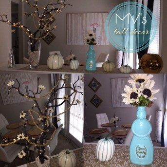 Awesome Teal Color Scheme For Fall Decor Ideas15