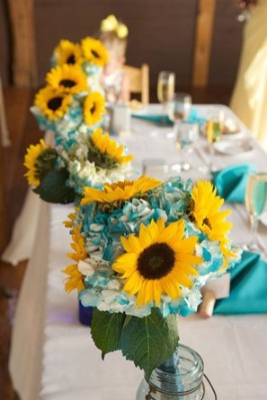 Awesome Teal Color Scheme For Fall Decor Ideas47