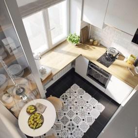 Brilliant Small Apartment Kitchen Ideas32