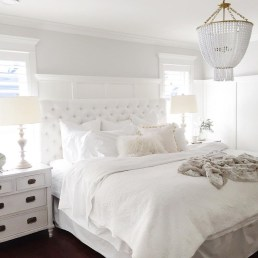 Elegant White Themed Bedroom Ideas15