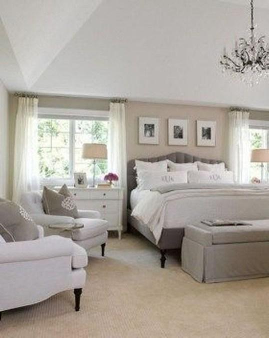 Elegant White Themed Bedroom Ideas20