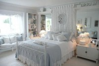 Elegant White Themed Bedroom Ideas31