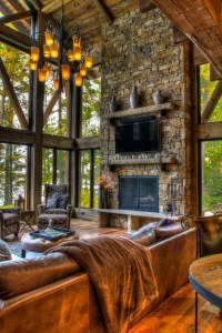 Inspiring Rustic Livingroom Decorations Home02