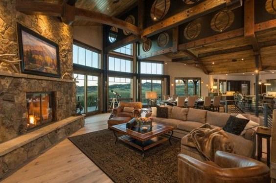 Inspiring Rustic Livingroom Decorations Home26