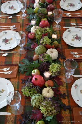 Inspiring Thanksgiving Centerpieces Table Decorations07