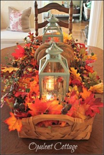 Inspiring Thanksgiving Centerpieces Table Decorations33