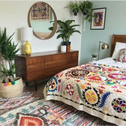 Inspiring Vintage Bohemian Bedroom Decorations03
