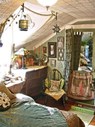 Inspiring Vintage Bohemian Bedroom Decorations33