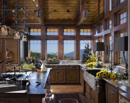 Lovely Rustic Western Style Kitchen Decorations Ideas 02