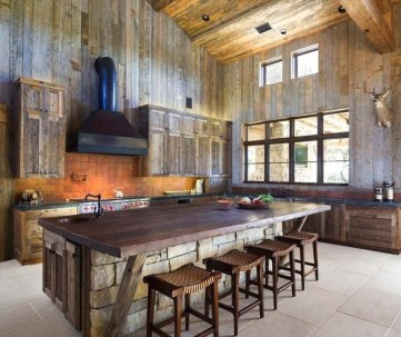 Lovely Rustic Western Style Kitchen Decorations Ideas 18