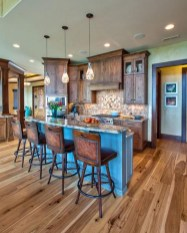 Lovely Rustic Western Style Kitchen Decorations Ideas 21