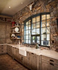 Lovely Rustic Western Style Kitchen Decorations Ideas 29