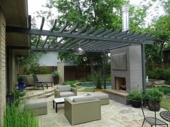 Modern Patio On Backyard Ideas14