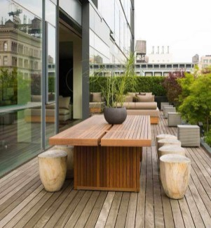Modern Patio On Backyard Ideas29