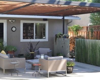 Modern Patio On Backyard Ideas36