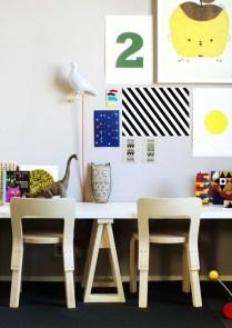 Simple Desk Workspace Design Ideas 01