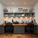 Simple Desk Workspace Design Ideas 03