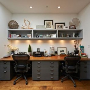 Simple Desk Workspace Design Ideas 03