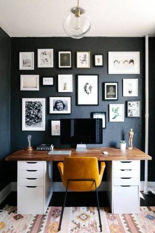 Simple Desk Workspace Design Ideas 06