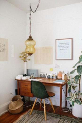 Simple Desk Workspace Design Ideas 10