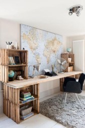 Simple Desk Workspace Design Ideas 17